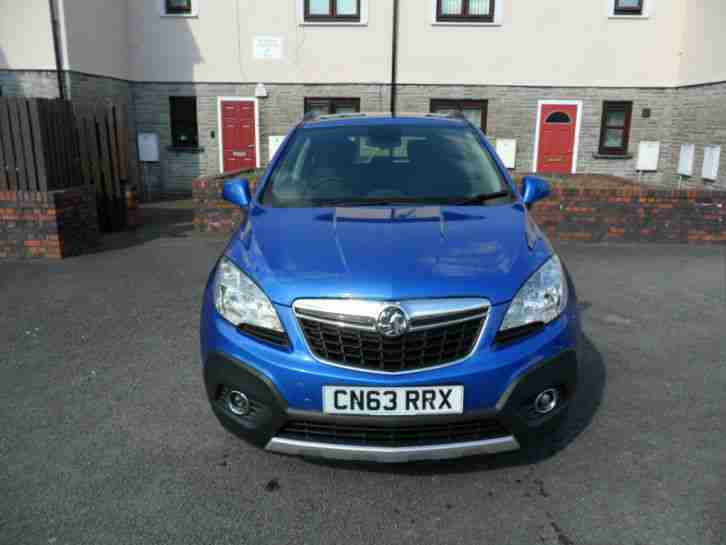 Vauxhall Mokka Exclusive 1.7CDTi 16v ( 130ps ) ( s/s ) 2013