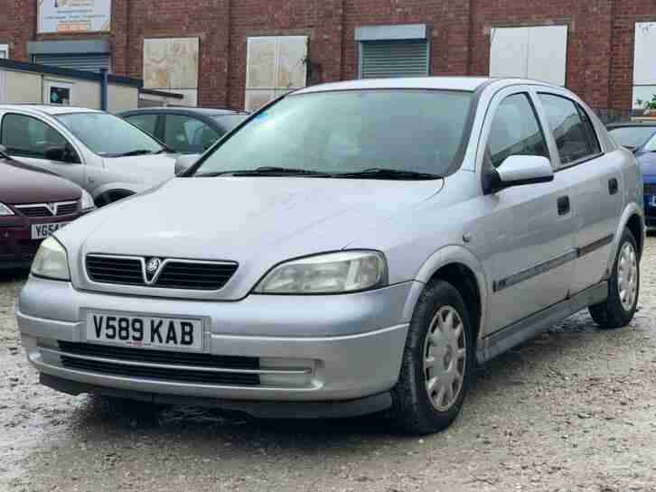 Vauxhall Opel Astra 1.6i ( a c ) AUTOMATIC 1999MY Club Excellent Runner Bargain