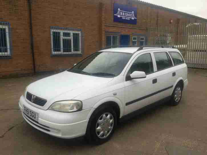 vauxhall opel astra 1 7dti 16v 2001 envoy diesel estate cheap tax 50. Black Bedroom Furniture Sets. Home Design Ideas