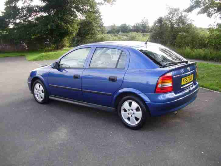 Vauxhall/Opel Astra 2.0DTi 16v 2003MY Elegance Exceptional condition OAP owned