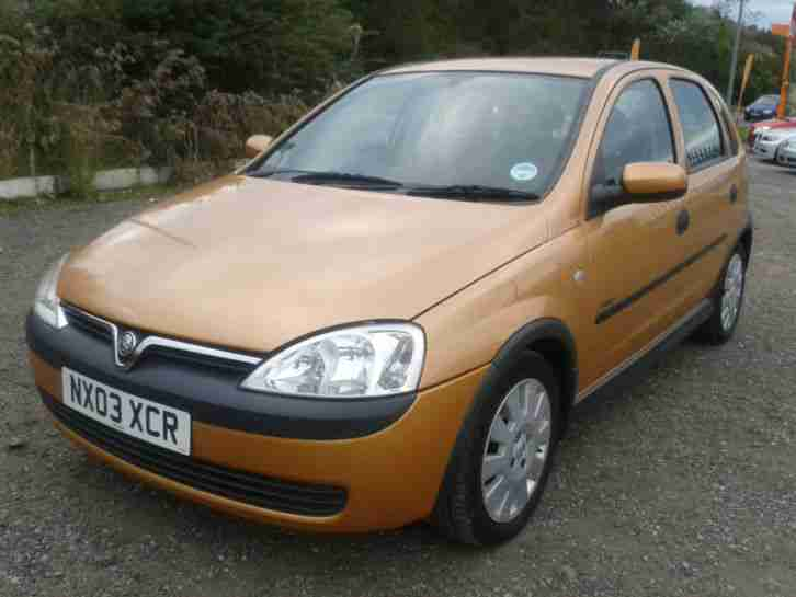 opel vauxhall corsa 12v 2003 5my active great 1st car car for sale. Black Bedroom Furniture Sets. Home Design Ideas