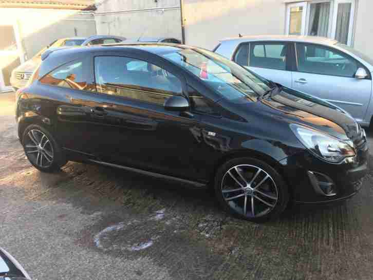 Vauxhall Opel Corsa 1.4i 16v ( 120ps ) ( s s ) ( a c ) 2012.5MY Black Edition
