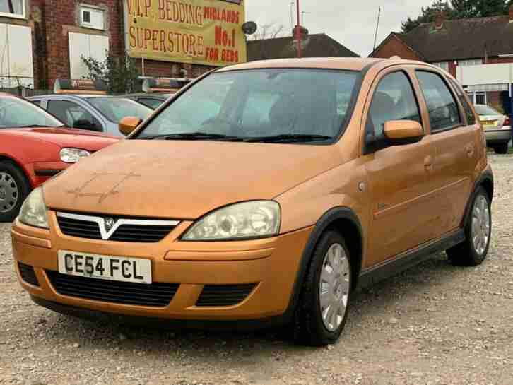 Vauxhall Opel Corsa 1.4i 16v ( a c ) 2004MY Design Long Mot Excellent Runner
