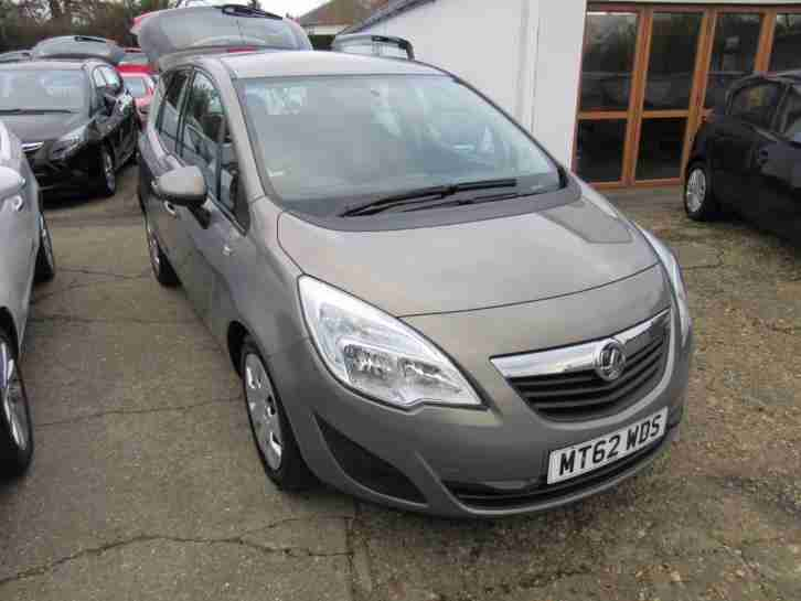 opel vauxhall meriva 16v 120ps a c 1398cc automatic mpv. Black Bedroom Furniture Sets. Home Design Ideas