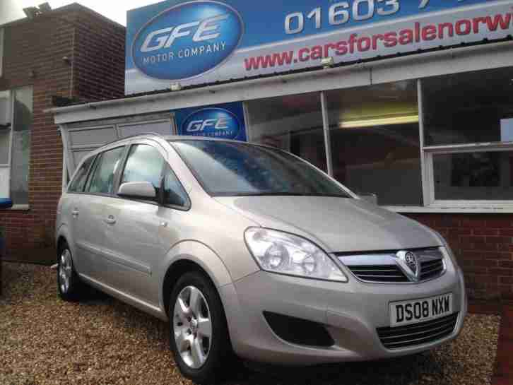 Vauxhall Zafira 1.6 16v ( 105ps ) 2008MY