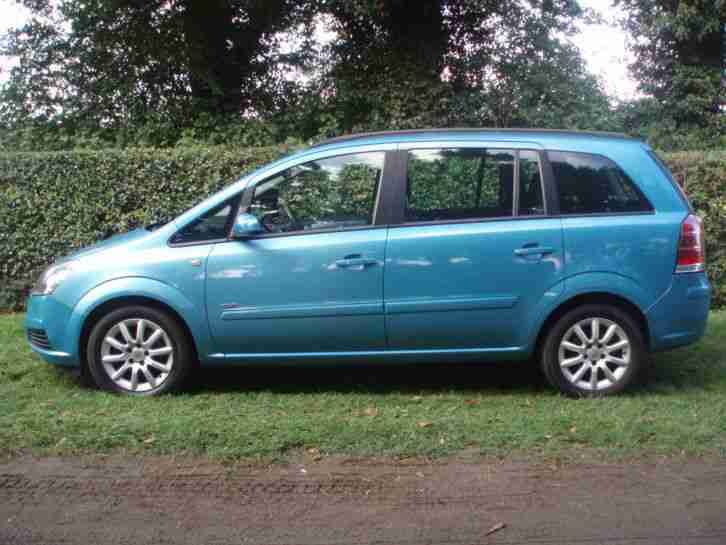 Vauxhall/Opel Zafira 1.6i 16v ( a/c ) Club **ONLY 110000 MILES