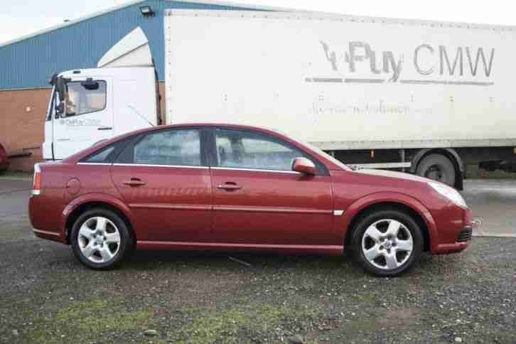 Vauxhall Vectra Exclusiv 1.9 CDTI Diesel 2007 Red