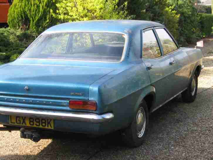 Vauxhall Victor Fd 1600 1972 Car For Sale