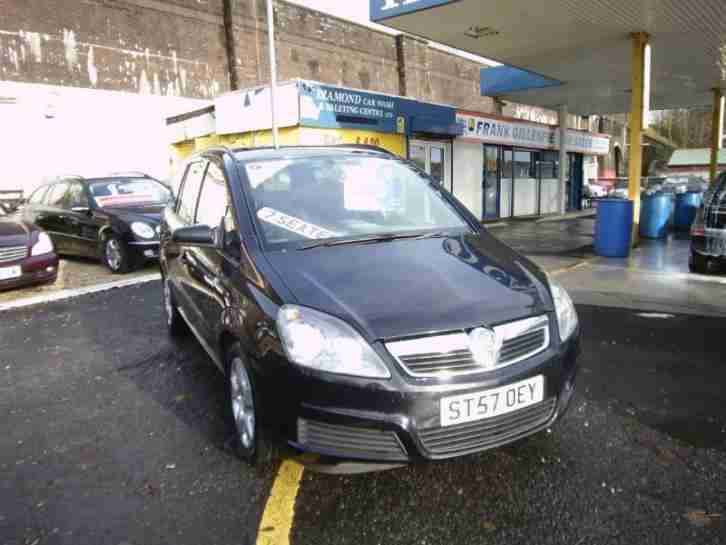 Vauxhall Zafira 1.6. Opel car from United Kingdom