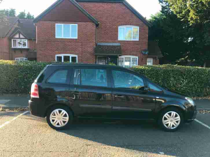 Vauxhall Zafira 1.6i 2007 7 seater new shape