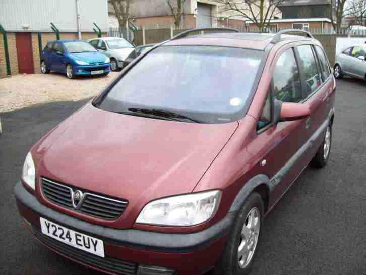 Vauxhall Zafira 1.8i. Vauxhall car from United Kingdom