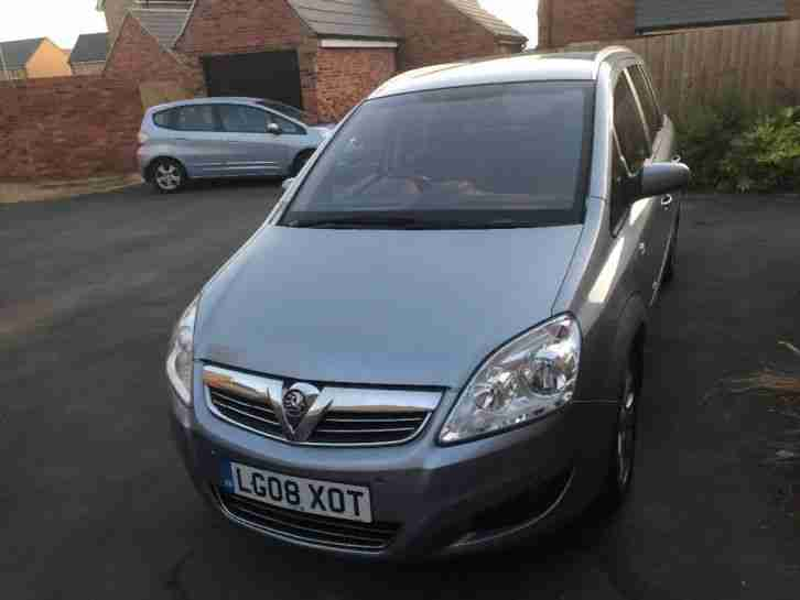 Zafira Breeze Plus 2008 MOT 04 19