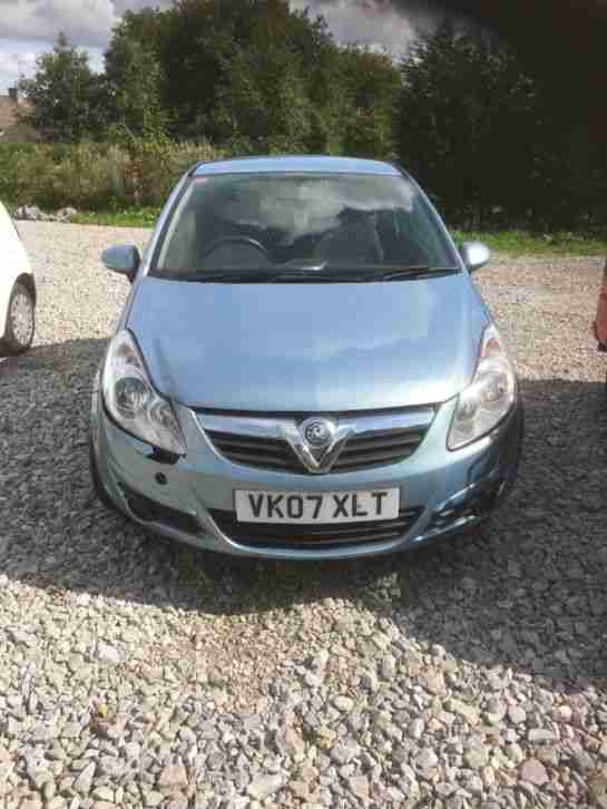 Vauxhall corsa 1.2. Opel car from United Kingdom