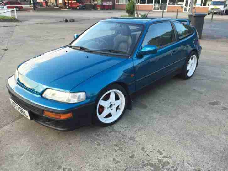 honda very rare 1991 civic 1 6 crx vtec 2d 148 bhp car. Black Bedroom Furniture Sets. Home Design Ideas