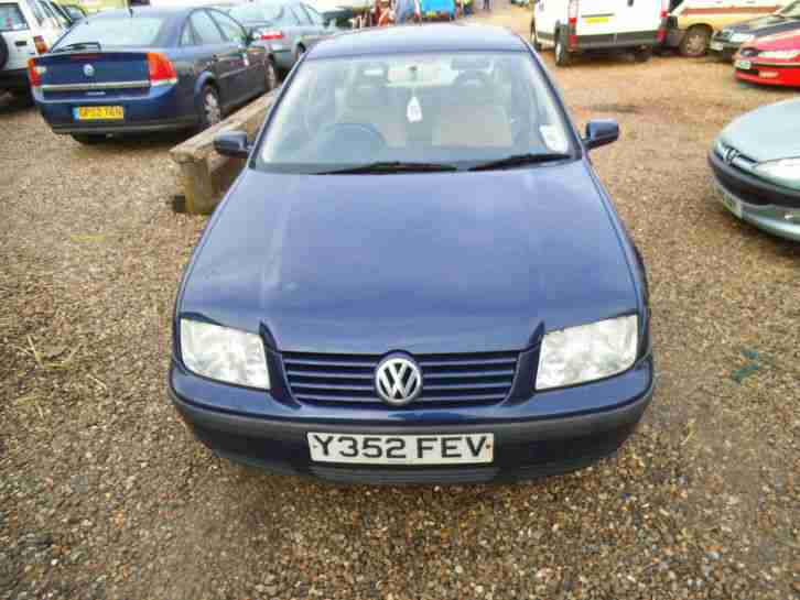 Volkswagen Bora 1.6 Petrol 2001 BREAKING FOR SPARES - 1.6 PETROL ENGINE