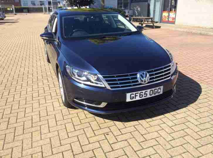 Volkswagen CC 2.0. Volkswagen car from United Kingdom