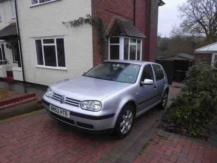 Volkswagen Golf 1.9. Volkswagen car from United Kingdom