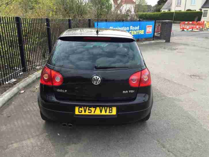 Volkswagen Golf 2.0TDI DPF ( 170PS ) 2008MY GT Sport