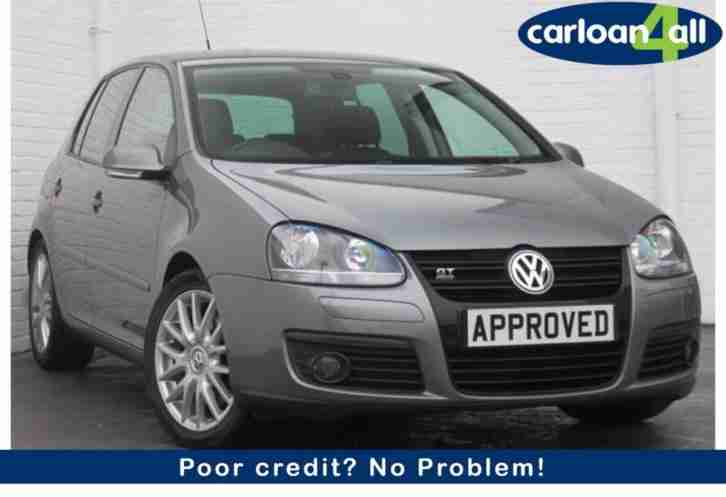volkswagen golf 2 0tdi dpf gt sport poor credit car for sale. Black Bedroom Furniture Sets. Home Design Ideas