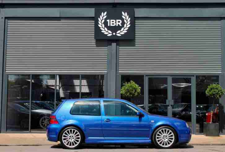Volkswagen Golf R32 3.2 V6 4Motion 2003 53 Deep Blue Pearl