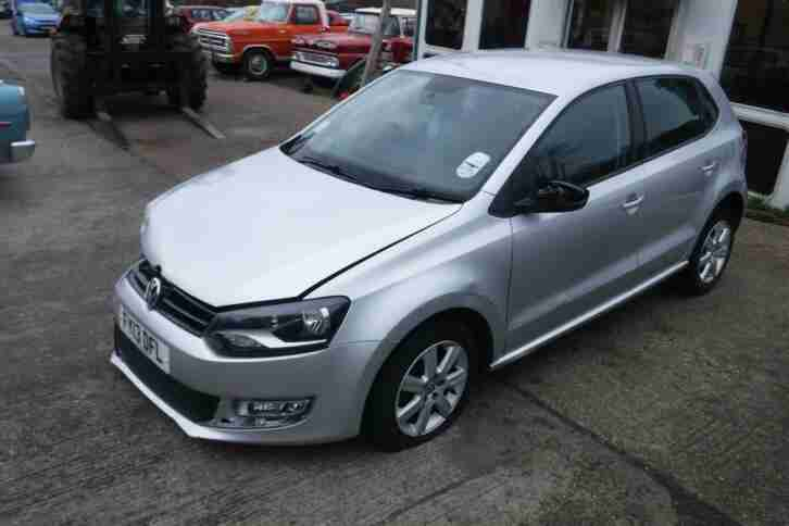 Volkswagen Polo 1.2. Volkswagen car from United Kingdom