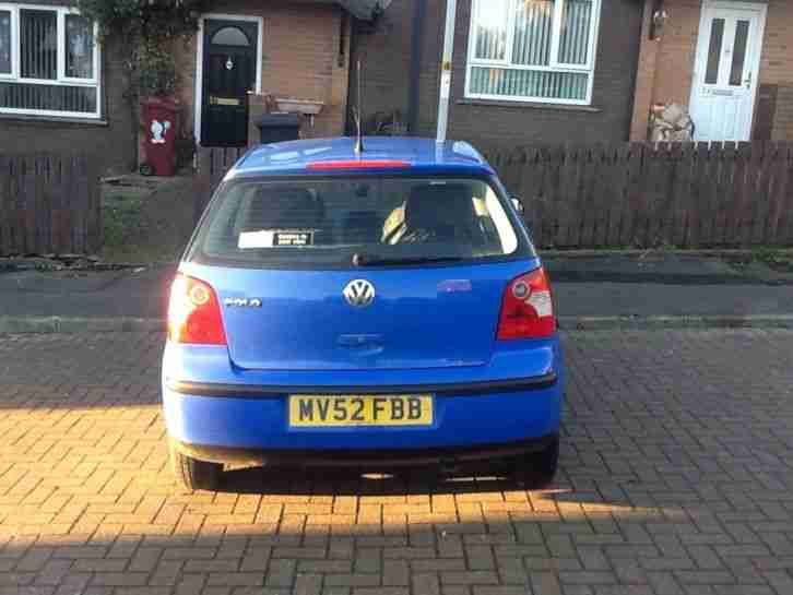 Volkswagen Polo 1.2L 67k 1 lady owner