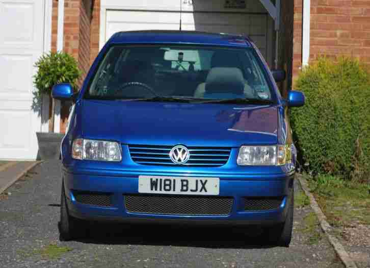 volkswagen polo sdi 1 9 diesel blue metallic manual car for sale. Black Bedroom Furniture Sets. Home Design Ideas
