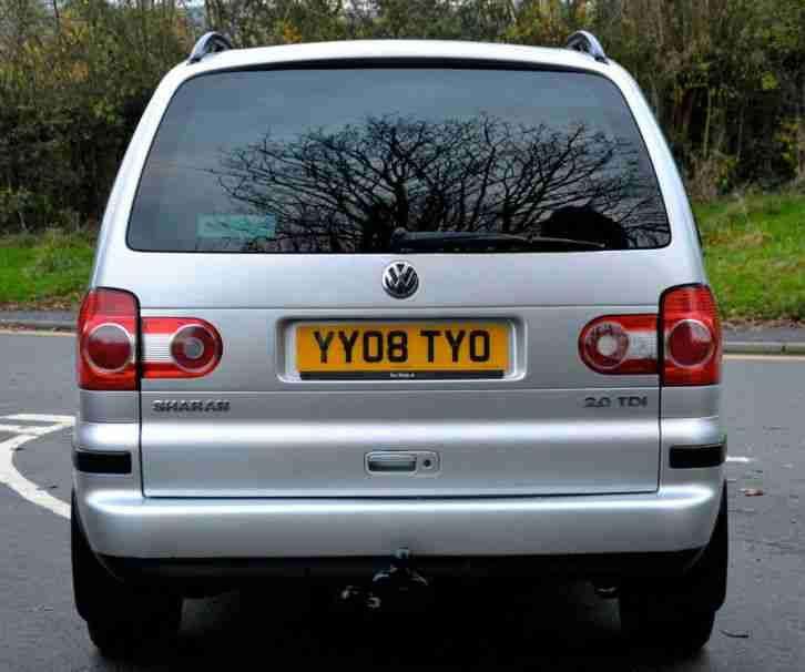 Volkswagen Diesel Cars For Sale: Volkswagen Sharan 2.0TDI 2008MY SE 7 Seat Diesel. Car For Sale