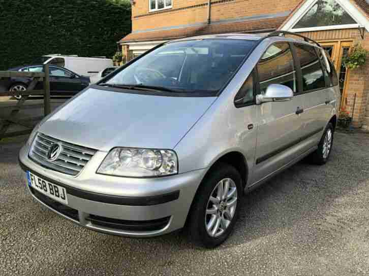Sharan 2.0TDI SE 7 SEAT'S,1 OWNER,