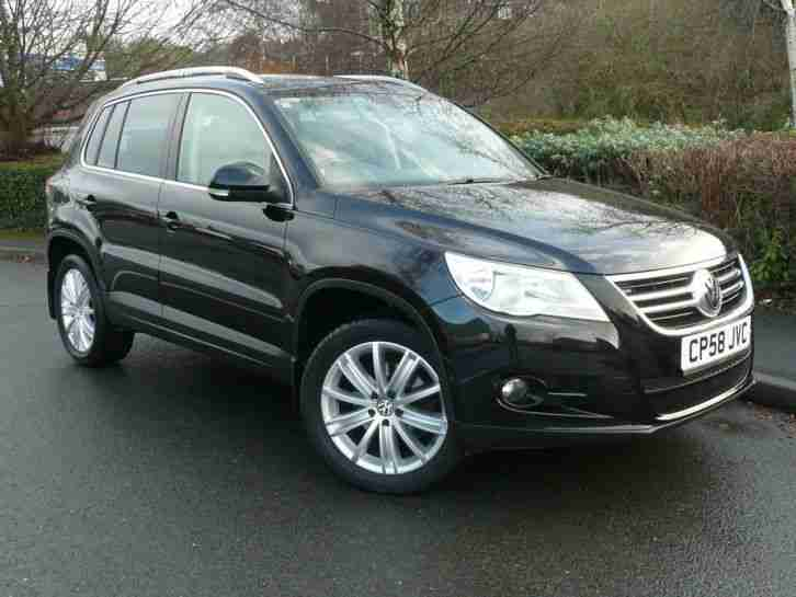 Volkswagen Tiguan 2.0TDI. Volkswagen car from United Kingdom