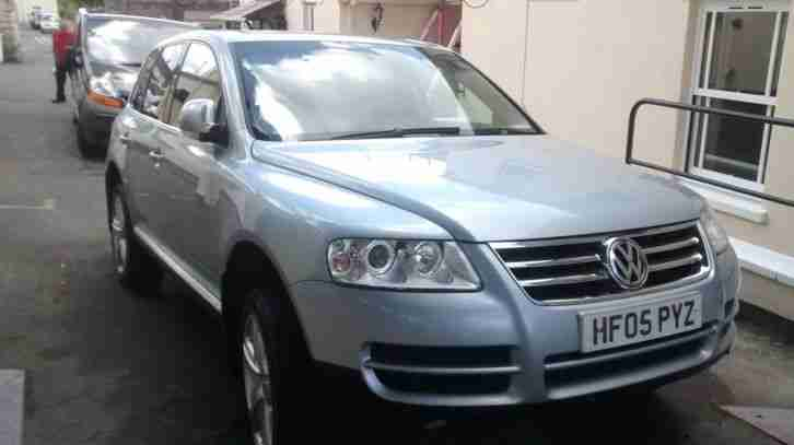 volkswagen touareg v6 tdi 2005 05 reg car for sale. Black Bedroom Furniture Sets. Home Design Ideas