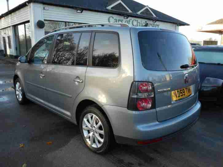 Volkswagen Touran 1.9 Tdi Match 7 seats with Sat Nav & Park assist 2009/59