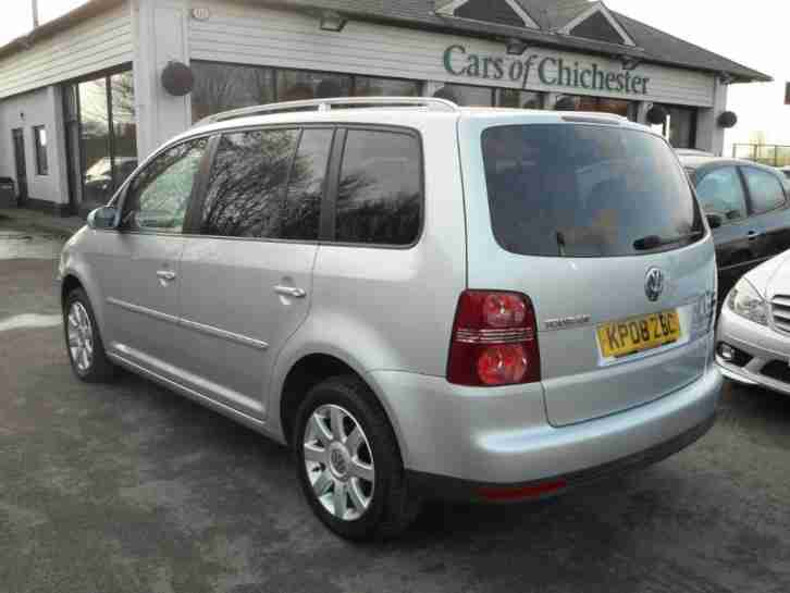 volkswagen touran sport 2 0 tdi 140 7 seater 50000 mls only diesel. Black Bedroom Furniture Sets. Home Design Ideas