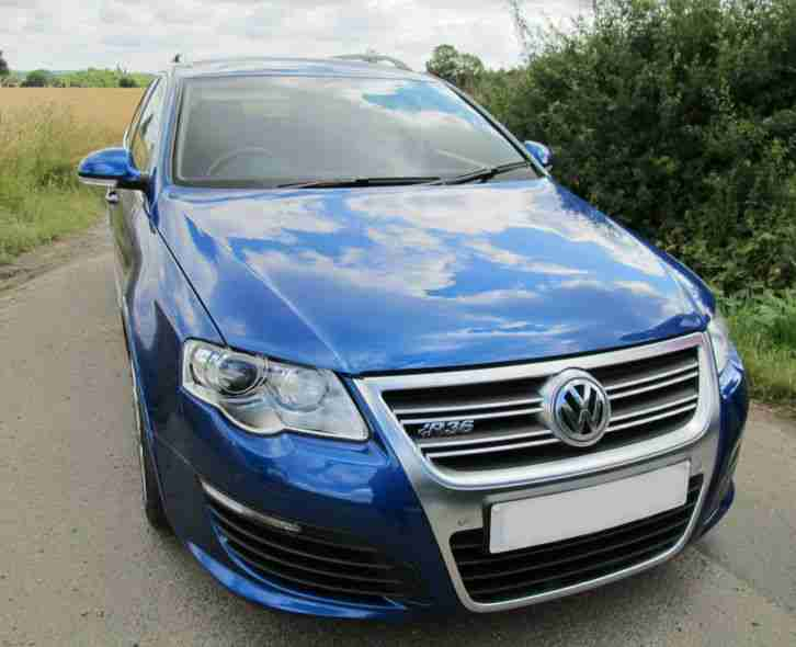 volkswagen vw passat r36 3 6l dsg 2008 blue estate car car for sale. Black Bedroom Furniture Sets. Home Design Ideas