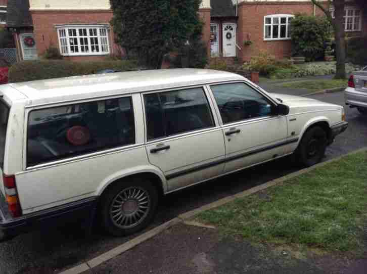 volvo 740 estate. 7 seater. restoration project. spares or repairs