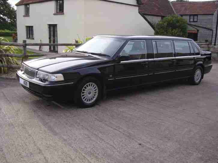 Volvo 960 Limousine. Saab car from United Kingdom