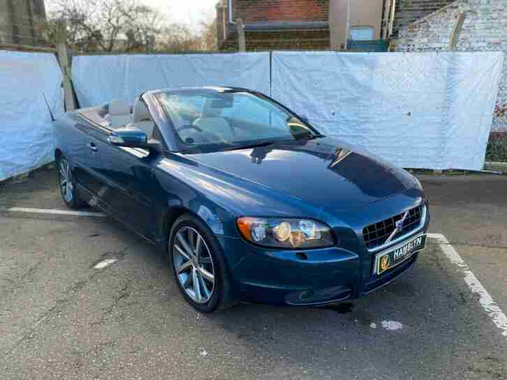 Volvo C70 2.0D5 2009 SE Automatic, convertible, Heated Leather, FSH, AA Warranty