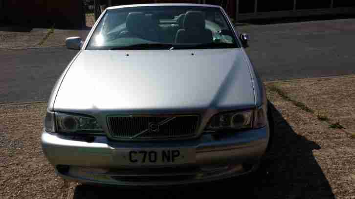 C70 Convertible, (51 reg) spares or