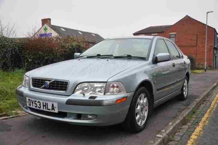 Volvo S40 1.6 S 4dr ( heated leather seats)