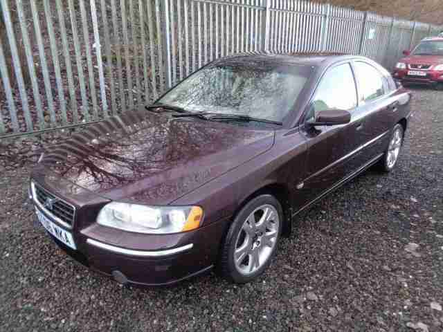Volvo S60 2.4TD. Volvo car from United Kingdom