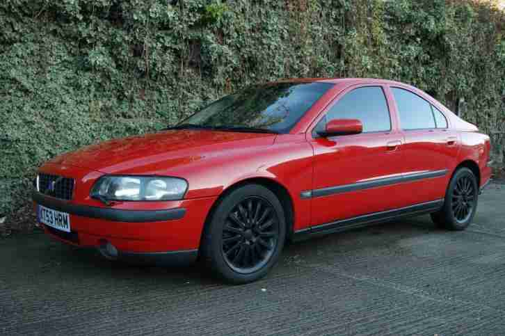 Volvo S60 T5. Volvo car from United Kingdom