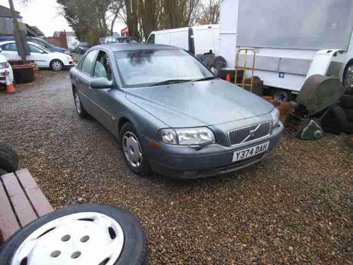 Volvo S80 2 4 Auto Met Blue Grey Leather Cheap Dependable Y Reg 2001