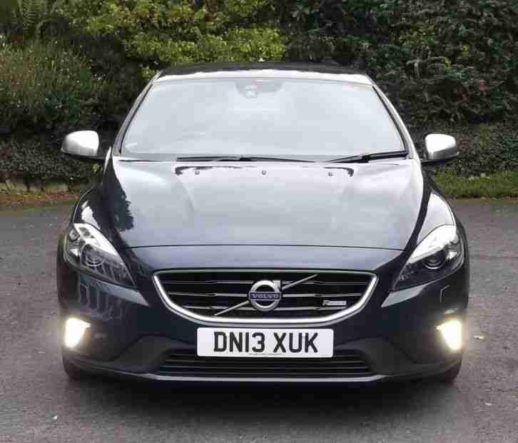 Volvo V40 D3 R-Design Lux 150bhp Manual (Start-Stop) 66k Miles (NO RESERVE)