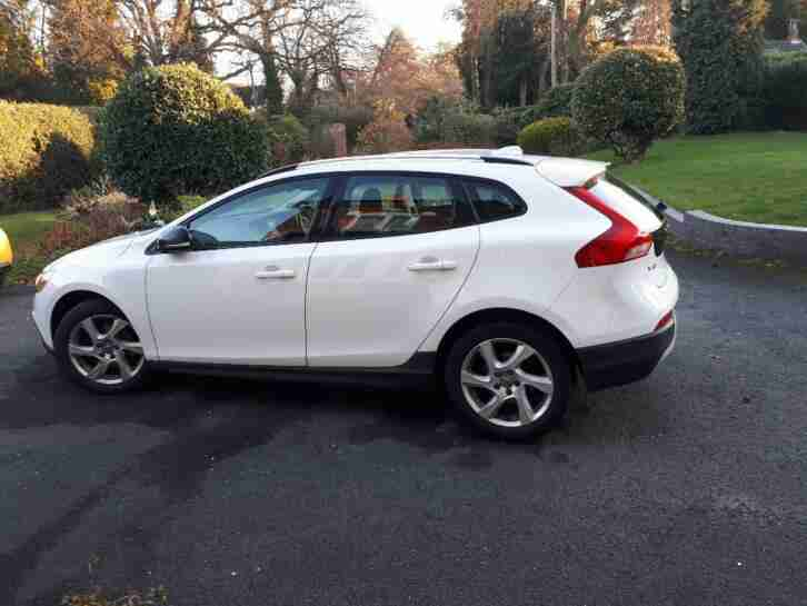Volvo V40 cross. Volvo car from United Kingdom