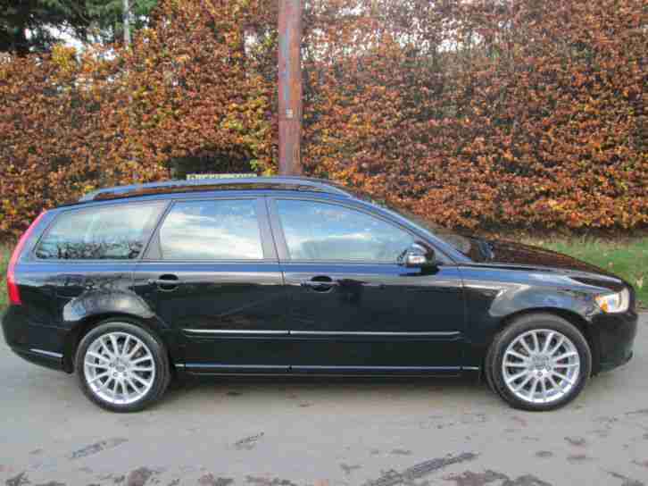 Volvo V50 1.6D 2010MY DRIVe SE 2 OWNERS FULL DEALER HISTORY SO WORTH VIEWING !!!