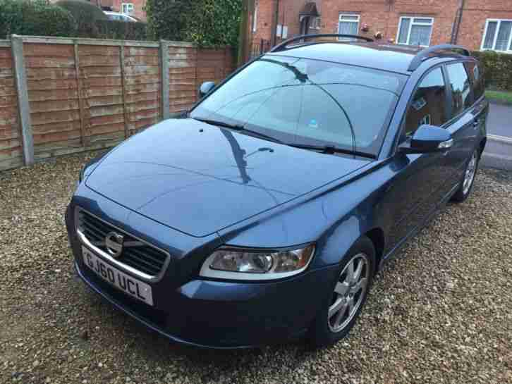 volvo v50 1 6l drive diesel mot january 2018 car for sale. Black Bedroom Furniture Sets. Home Design Ideas