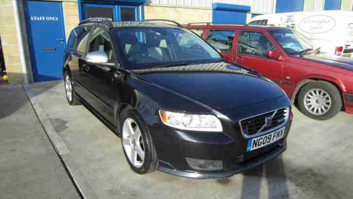 Volvo V50 2.0D. Volvo car from United Kingdom