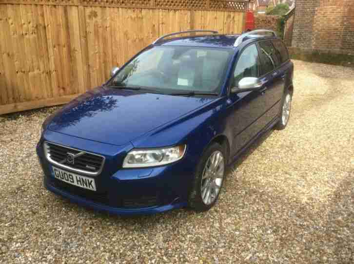 Volvo V50 D5 R Design manual