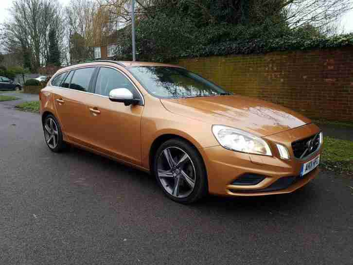 Volvo V60 2.0D. Volvo car from United Kingdom
