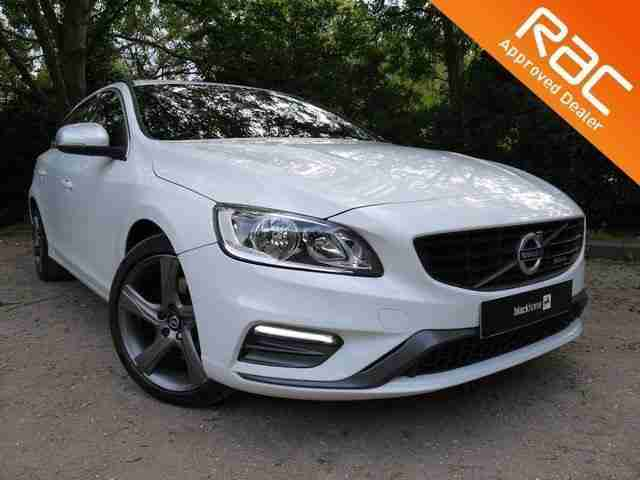Volvo V60 2.4TD. Volvo car from United Kingdom